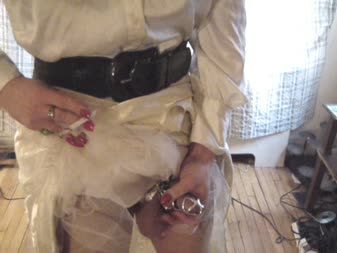 Femdom and male chastity